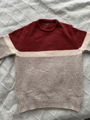 Massimo Dutti - Sweter wełniany, rozmiar XL (L)