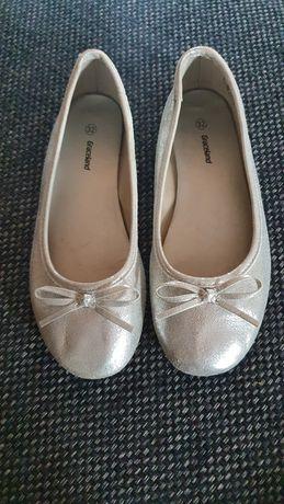 Srebrne balerinki Graceland rozm.32