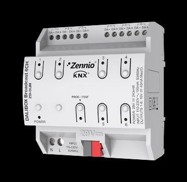 Zennio ZDI-DLB6 DaliBox Интерфейс KNX-DALI