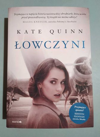 /REZERWACJA/ Łowczyni K. Quinn - literatura kobieca, romans, historia