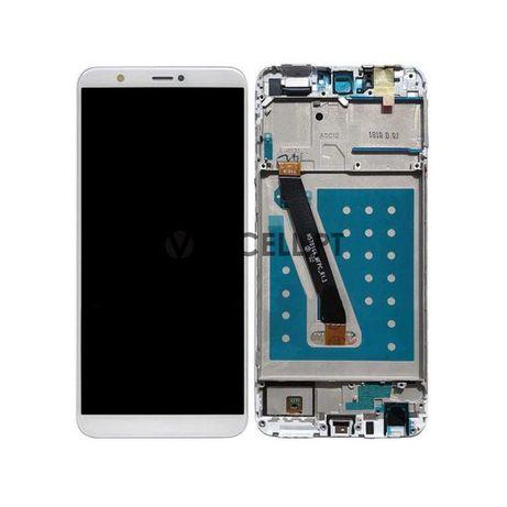 Ecrã com Frame para Huawei P Smart - Branco