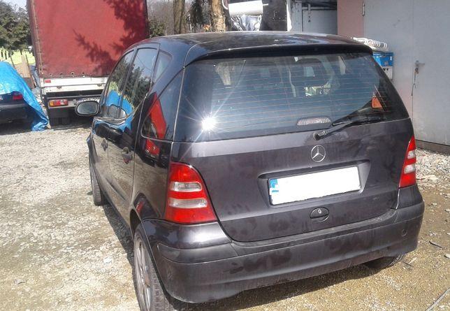 Mercedes A Klasa B W168 A168 Lak 195 Zderzak Tył Tylny Chrom Zaślepka