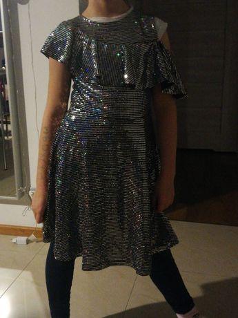 Śliczna sukienka z Zary rozmiar 140