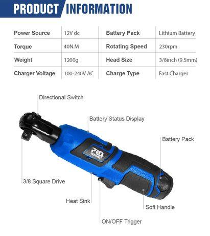 Roquete a bateria ProStormer