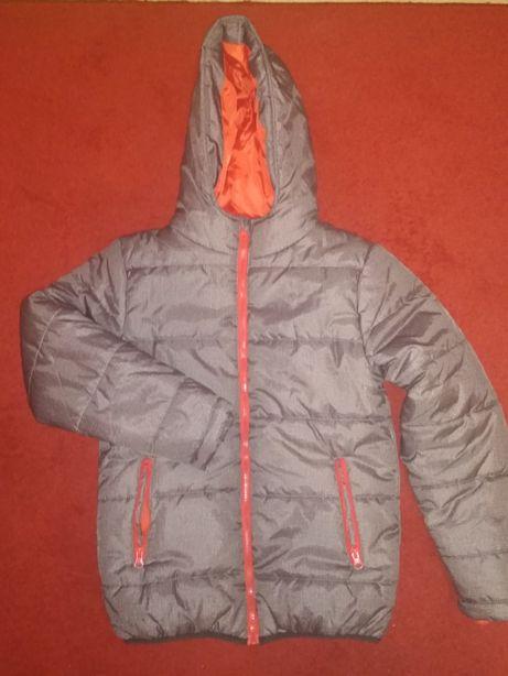 Nowa zimowa kurtka chłopięca 158 cm