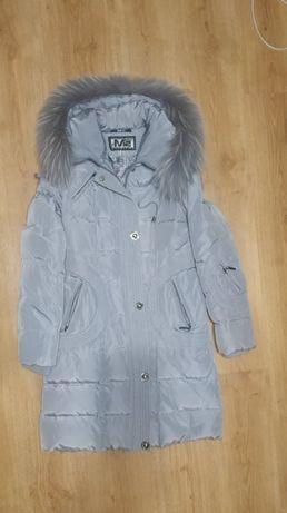 Пальто на девочку 13-15 лет. Размер 44