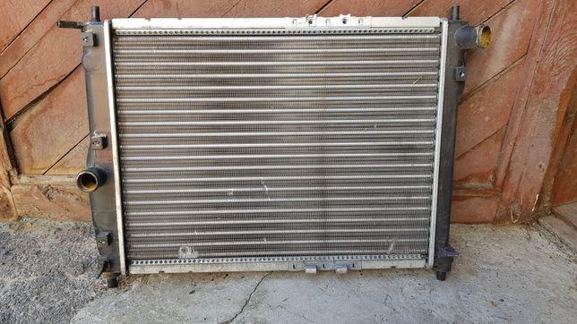 Радиатор охлаждения Деу Ланос