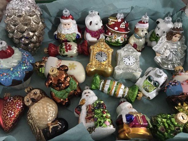 Новорічні іграшки скло ( новогодние игрушки ), новорічний декор