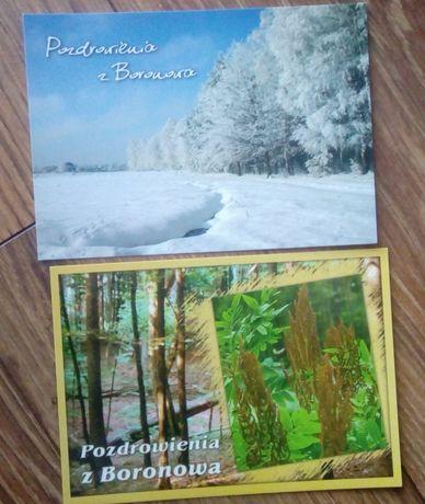Boronów - 2 pocztówki
