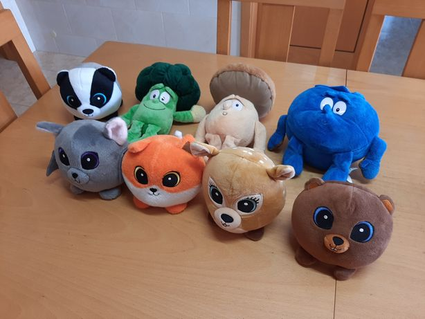 Peluches lidl e pindo doce