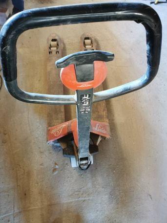 Wózek paletowy paleciak LINDE JUNGHEINRICH