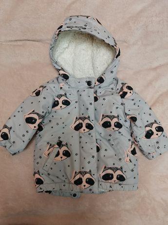 Курточка 6-9 месяцов деми