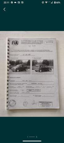 Fiat Cinquecento sporting rally homologacja