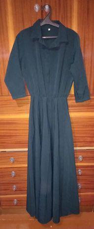 Платье в пол на рост до 170
