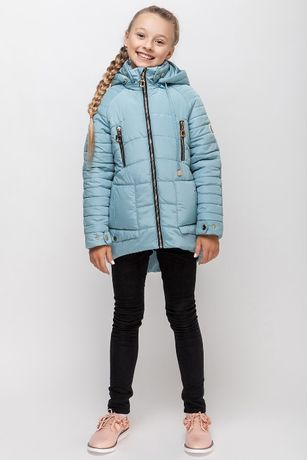 Продам куртку демисезон на рост 134 см. ТМ Барбарис б/у пересылка