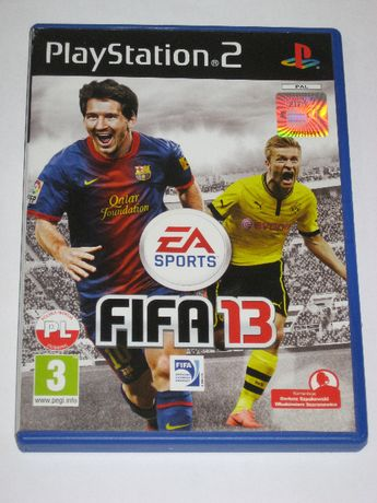 Gra FIFA13 FIFA 13 PL PS2 PlayStation 2 BDB po polsku