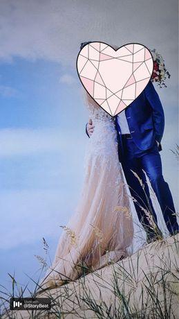 Продаю свадебное платье )