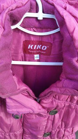 Куртка Кико зимняя курточка 8-9 лет рост 134 см