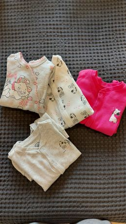 Piżamki dla małej dziewczynki