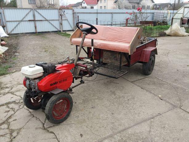 Мотоблок,трактор, Хонда + прицеп
