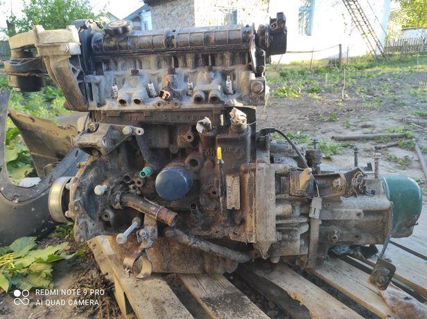 Двигун КПП Рено лагуна1. 1.8 1997р.в.