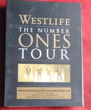 Westlife*The Number Ones Tour/DVD