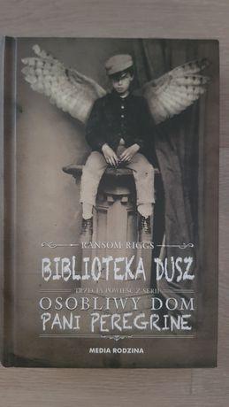 "Książka ""Biblioteka dusz"" Ransom Riggs"