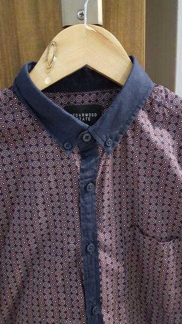 Koszula krótki rękaw Cedarwood M