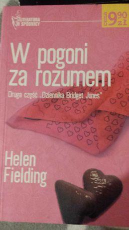 Książka  W pogoni za rozumem Helen Fielding