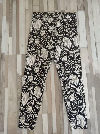 Spodnie rurki cygaretki rozmiar 34/36