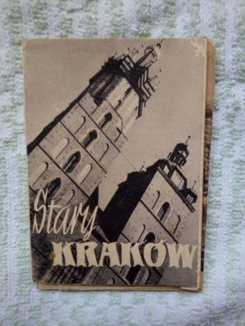 Zdjęcia harmonijka Stary Kraków 1957 rok