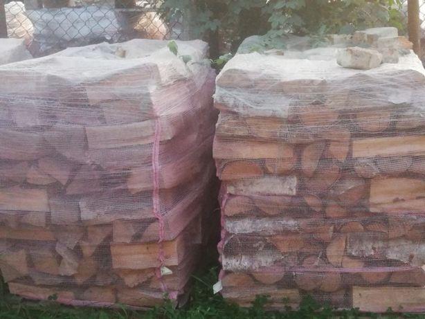 Drewno kominkowe i opałowe paletowane buk