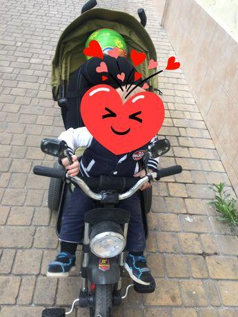 Детский велосипед, мотоцикл