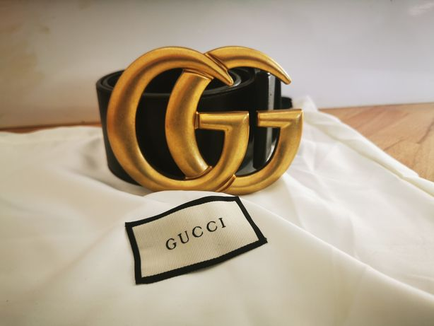 Pasek Gucci GG Marmont wide