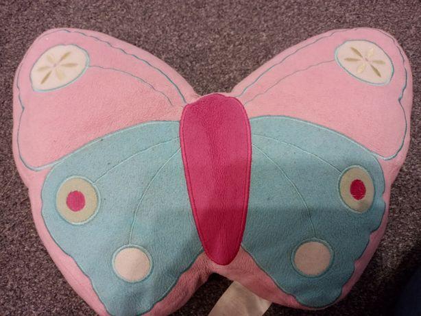 Poduszka motyl rozowa