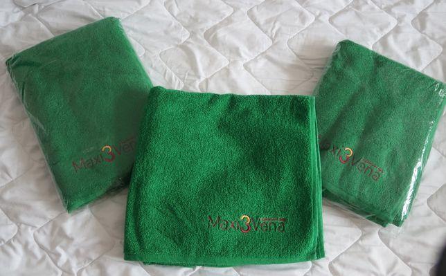 ręcznik kąpielowy duży, zielony