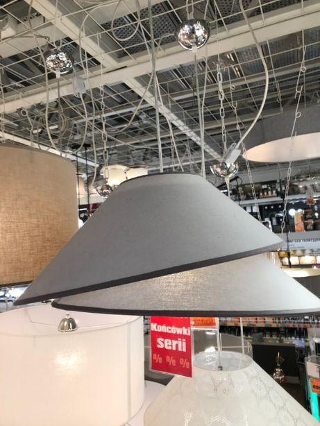 OBI Lampa żyrandol abażur materiałowy OKAZJA! Z 129zł na 69zł