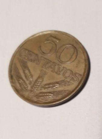 Coleção moedas 50 centimos anos 1963 a 1980