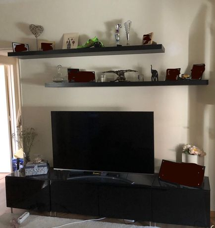 Conjunto de móveis de sala