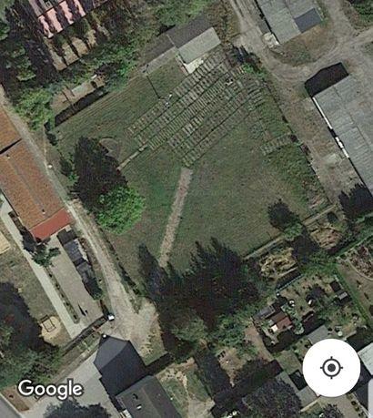 Działka w DE Plac pod parking Firma Komis w Locknitz