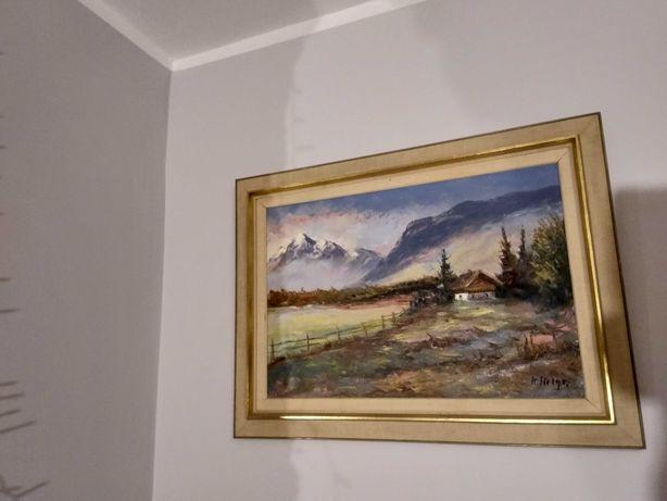 Sprzedam obraz olejny o wym.61 cm x 81 cm