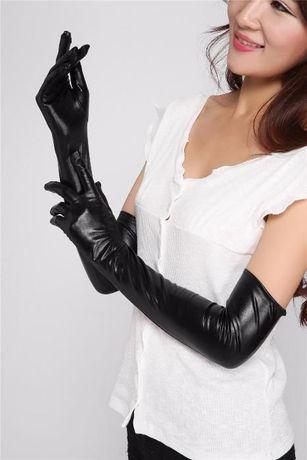 Супер модные перчатки под кожу - латекс - винил (новые!) S/M/L/XL