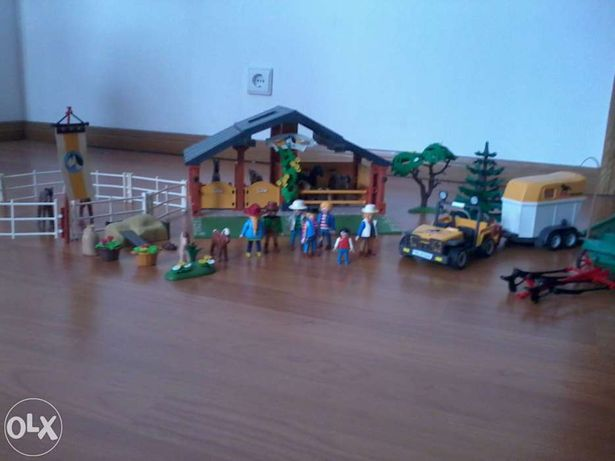 Quinta dos Cavalos Playmobil