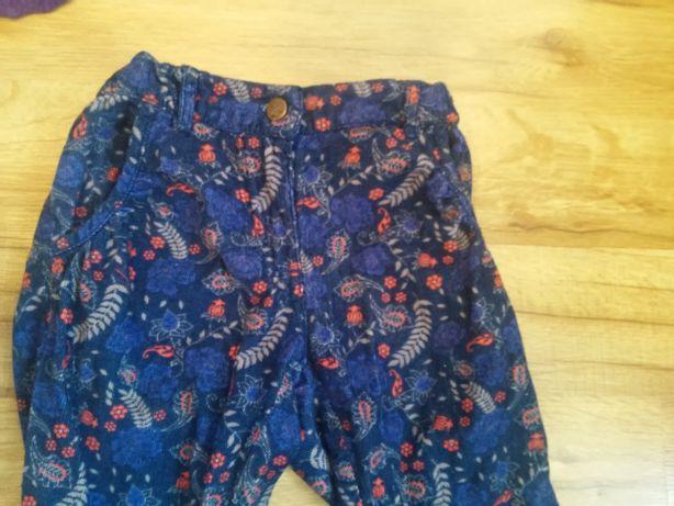 Sztruksowe spodnie dla dziewczynki 51015