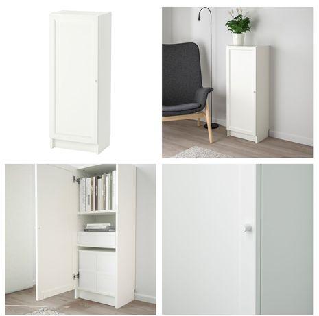 armário com porta ikea BILLY / OXBERG