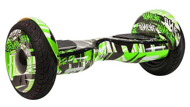 ЗНИЖКА ДНЯ на гіроборди гіроскутера гироскутер 10,5дюймов Зелёный