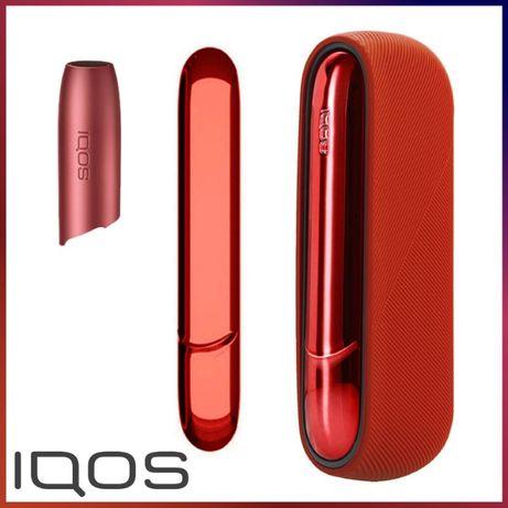 АКЦИЯ! Чехол и боковая панель + колпачок для IQOS 3 Duo/Айкос 3 дуо