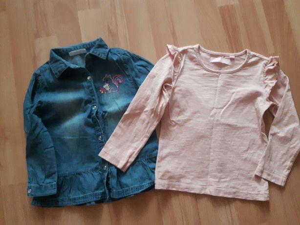 Bluzki bluzka koszula 98/104 stan idealny