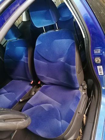 Fotel fotele Citroen C2 niebieskie