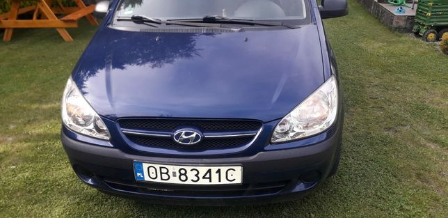 Hyundai Getz sprowadzony z Niemiec